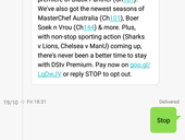 DSTV Premium Scam - OPTED out But Still On Premium