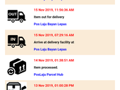 WHERE IS MY PARCEL