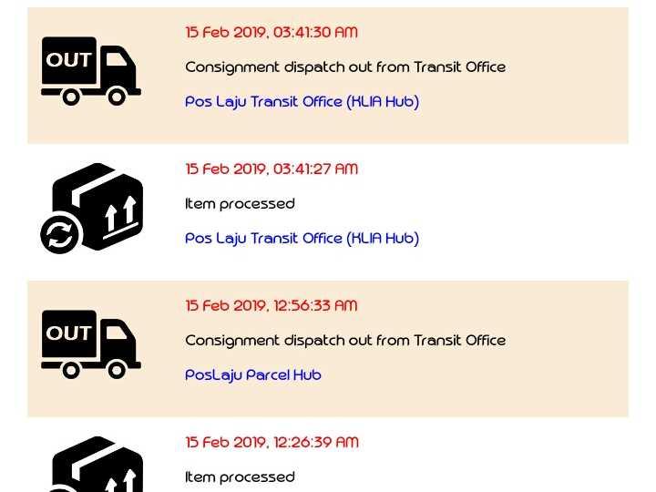 Poslaju Transit Office Klia Hub