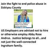 Employers are advised not to hire Abby Andrus