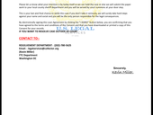 Letter financial crime dept/Semrad Law